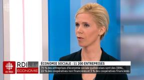 Una entrevista con Sra. Béatrice Alain, la Directora del Chantier de l'économie sociale (ICI RDI)
